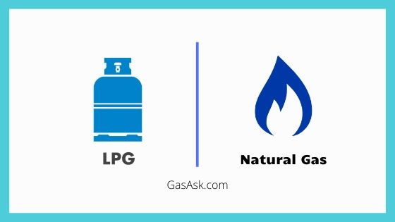 LPG vs Natural gas