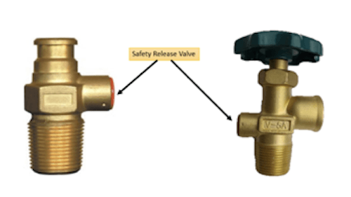 domestic and industrial lpg cylinder valve