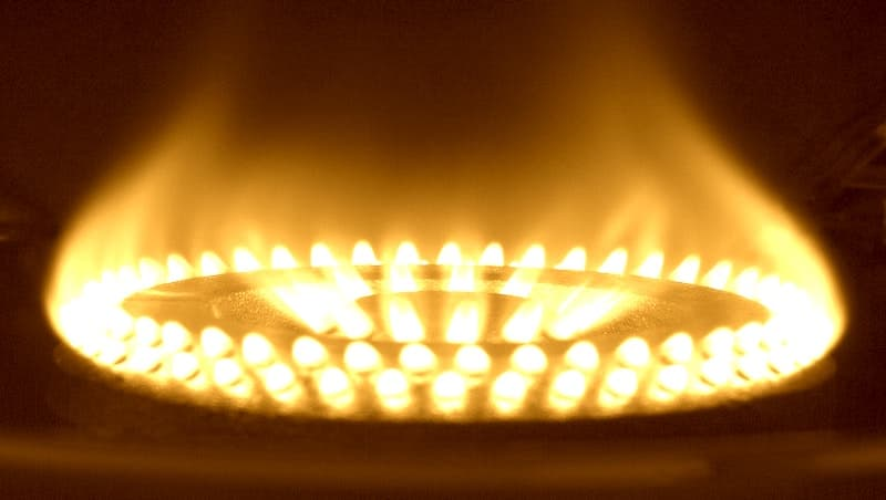 How to fix yellow flame on gas burner