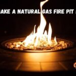 How to make a natural gas fire pit burner